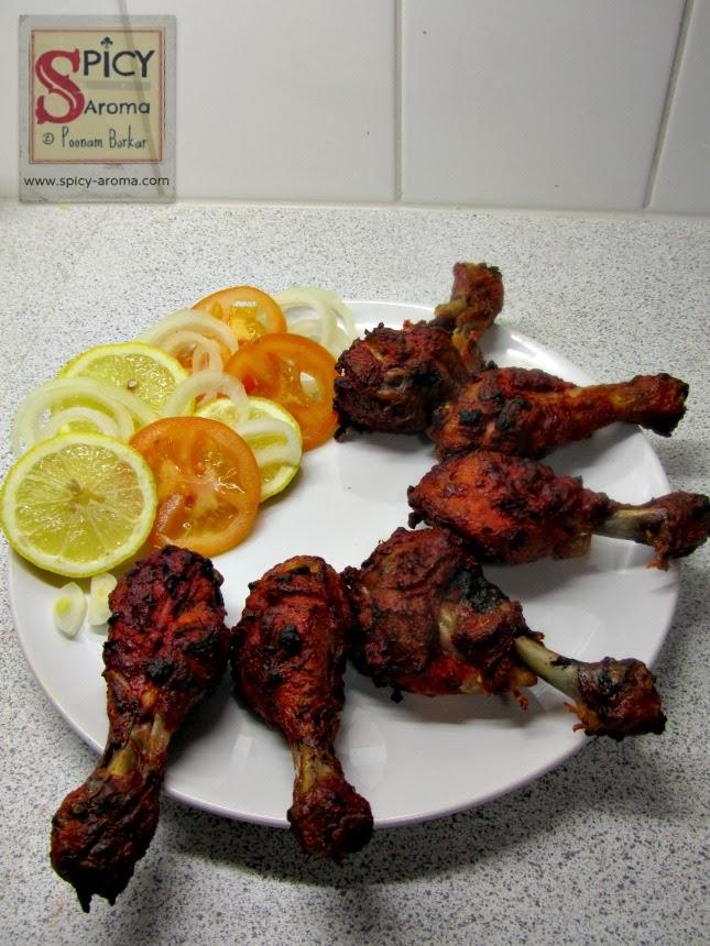 Tandoori Chicken Sanjeev Kapoor