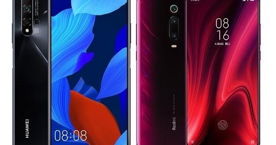Huawei nova 5T Vs Xiaomi Mi 9T Pro Specs Comparison