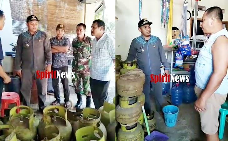 Pak Camatku, Gelar Sidak Mendadak Kelangkaan Gas LPG 3 Kg