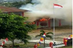 Papua Terbakar dan Standar Ganda Perlakuan Anak Bangsa