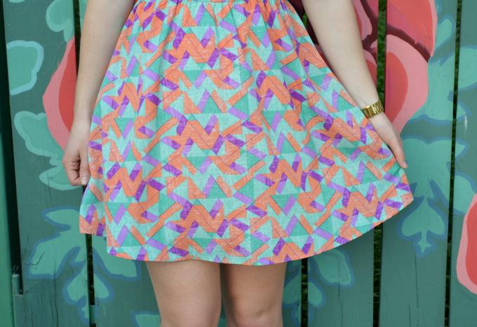 A Short Pastel Sundress for Summer | Organized Mess