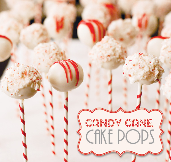 Juneberry Lane: Candy Cane Cake Pops!!!