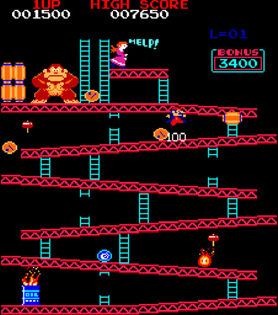 Donkey Kong play area