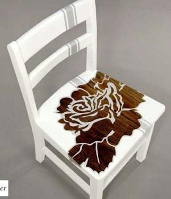 kursi kayu cantik