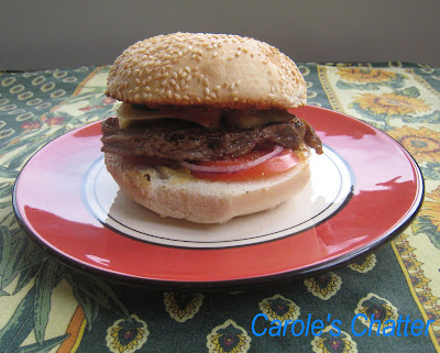 Carole's Chatter: Home Made Steak Burgers Refreshed