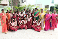 Actress Priya Anand in T Shirt with Students of Shiksha Movement Events 01.jpg