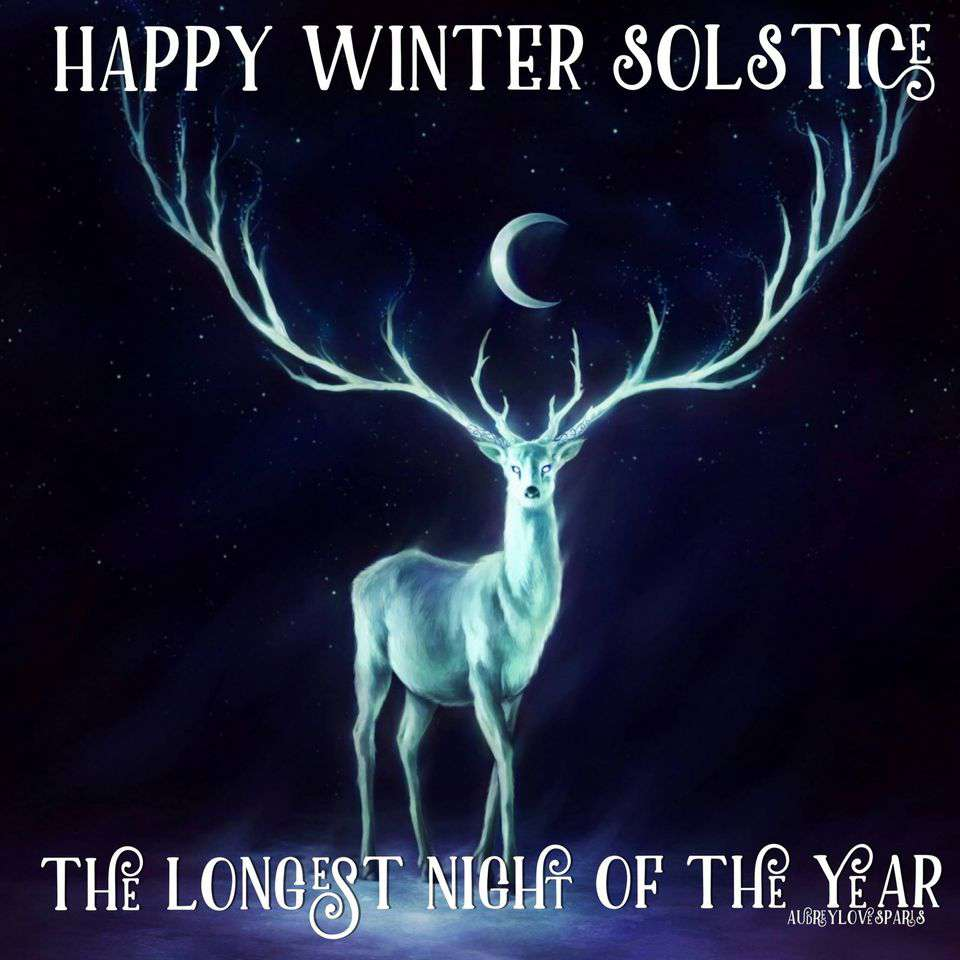 Winter Solstice Wishes Beautiful Image