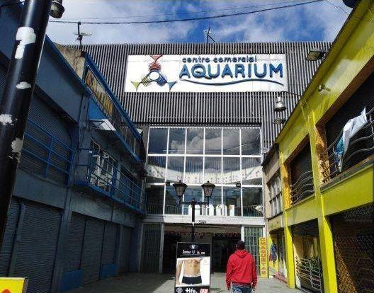 aquarium centro comercial