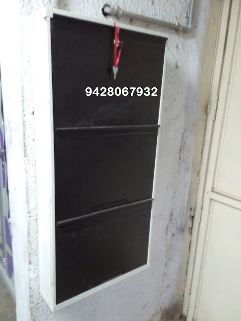 KAMAL STEEL PRODUCTS - 9428067932 wall fix shoe rack Manufacturer Pratapnagar vadodara