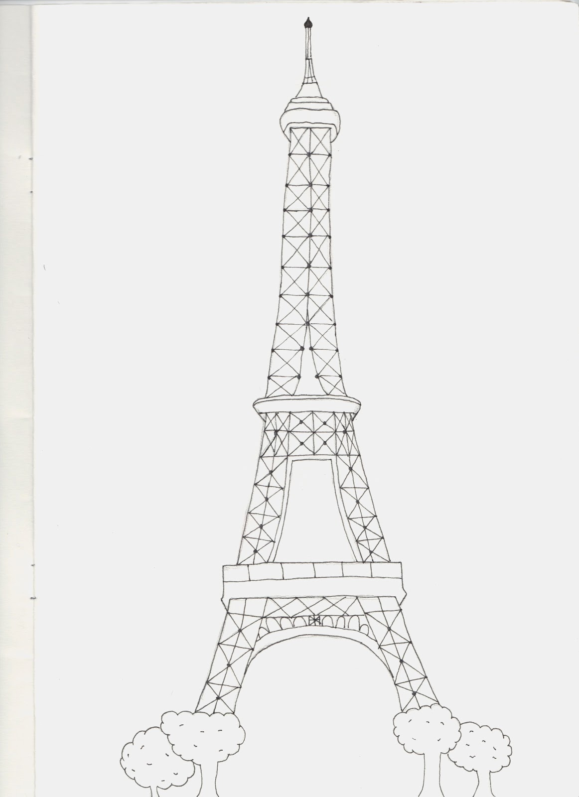 Duran Young Graphics: ( Starter Activity ) Landmark Drawings