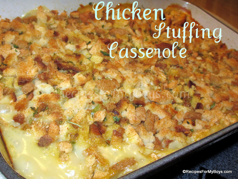 Chicken And Stove Top Stuffing Casserole Recipe