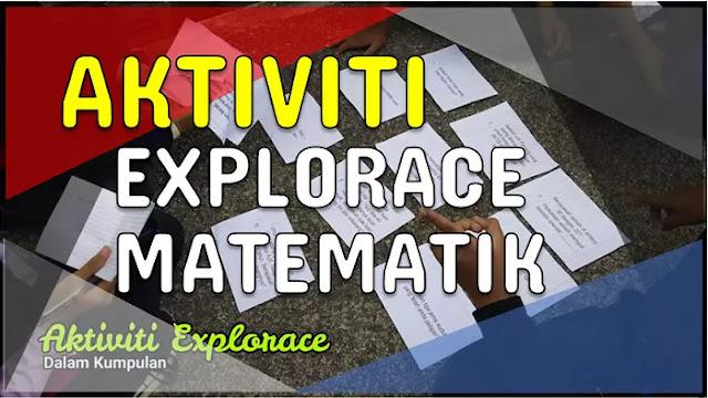 aktiviti rekreasi explorase matematik sekolah rendah