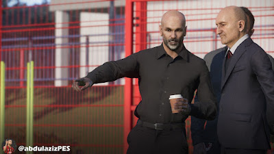 PES 2021 Faces Stefano Pioli by Abdulaziz