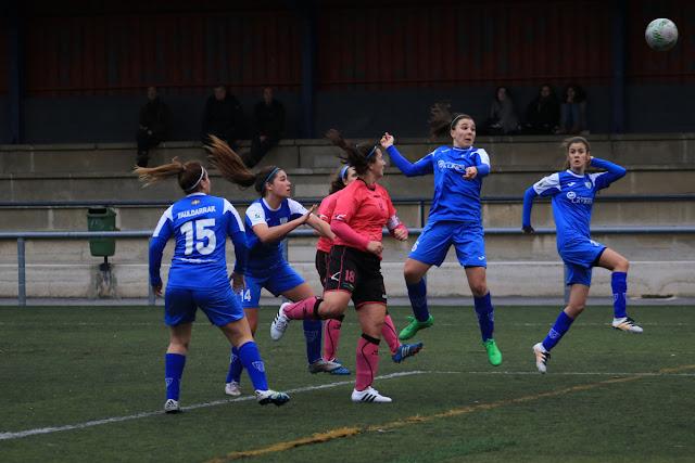 Fútbol | El Pauldarrak se lleva los tres puntos de Eibar con un gol de Haizea tras un buen partido