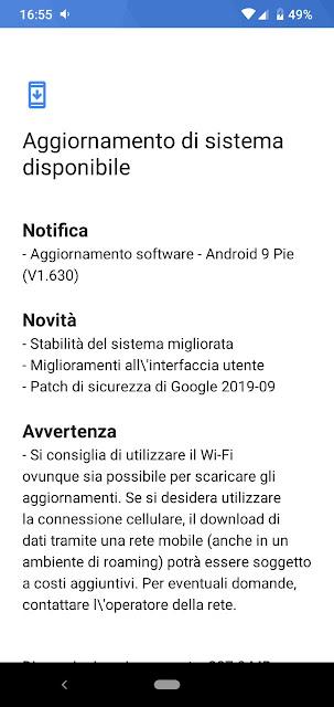 Nokia 2.2 riceve le patch di sicurezza di settembre 2019