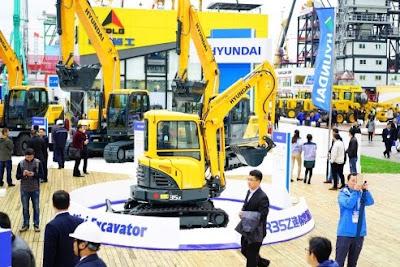 3 Hội chợ máy móc xây dựng, máy sản xuất vật liệu xây dựng, máy khai mỏ và xe vận tải