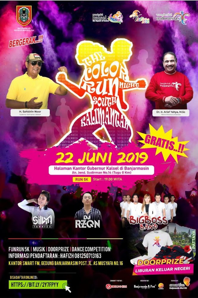 Colour Run Night South Kalimantan • 2019