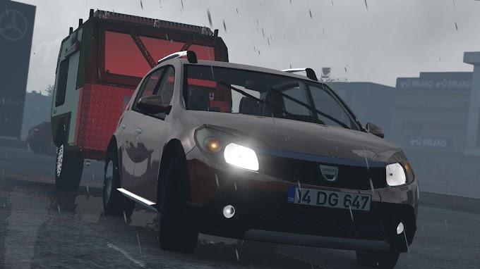 ETS 2 - Dacia Sandero V1R50 Modu (1.39)
