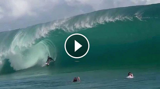Nathan Florence s Impossible Paddle-in Wave at Teahupoo