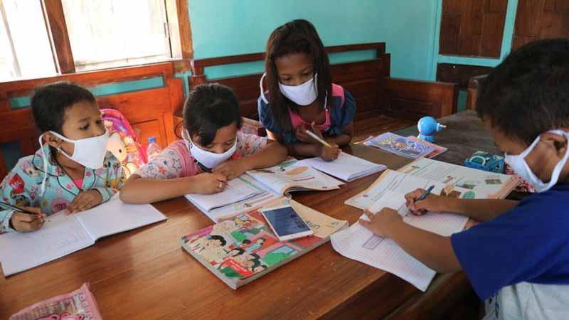 Kemendikbud Akui Pembelajaran Daring pada Jenjang SD Tak Berjalan Baik