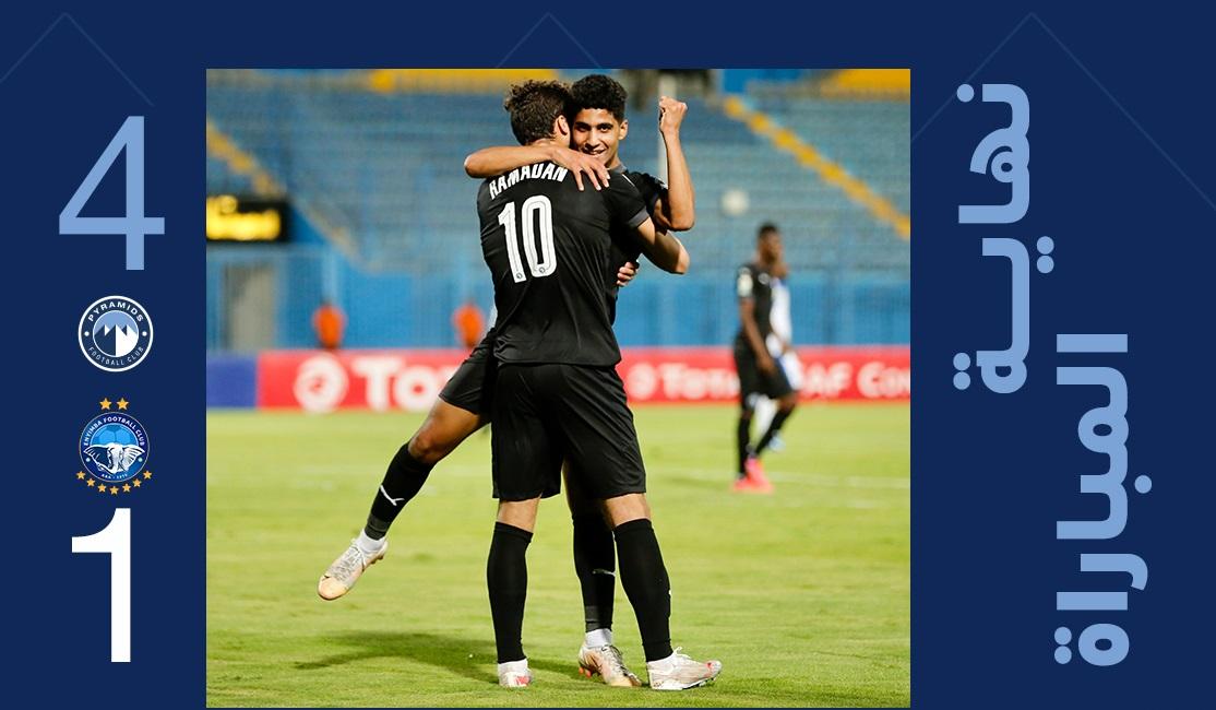 أهداف مباراة بيراميدز ضد إنيمبا