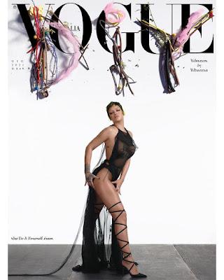 Rihanna Vogue Italia Do It Yourself June Issue