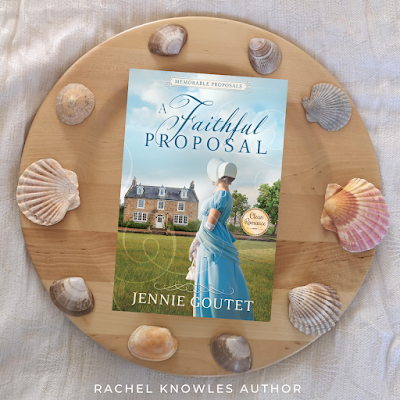 Front cover of A Faithful Proposal by Jennie Goutet