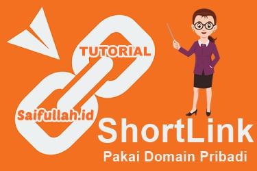 Cara Membuat Shortlink Pakai Domain Pribadi