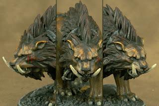 Hrothgorn's Mantrappers' Thrafnir (close-up)