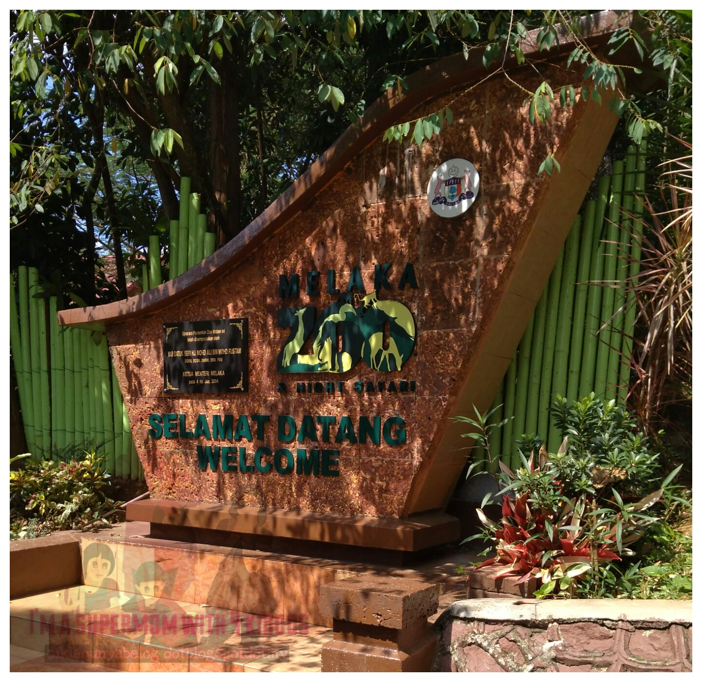 [Entri Bergambar] Jalan-jalan melihat flora dan fauna di Zoo Melaka.