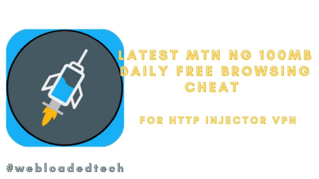 Latest MTN NG 100MB Daily Free Browsing Cheat
