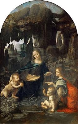La Virgen de las rocas  – Leonardo Da Vinci
