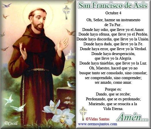 Frases Celebres De San Francisco De Asis