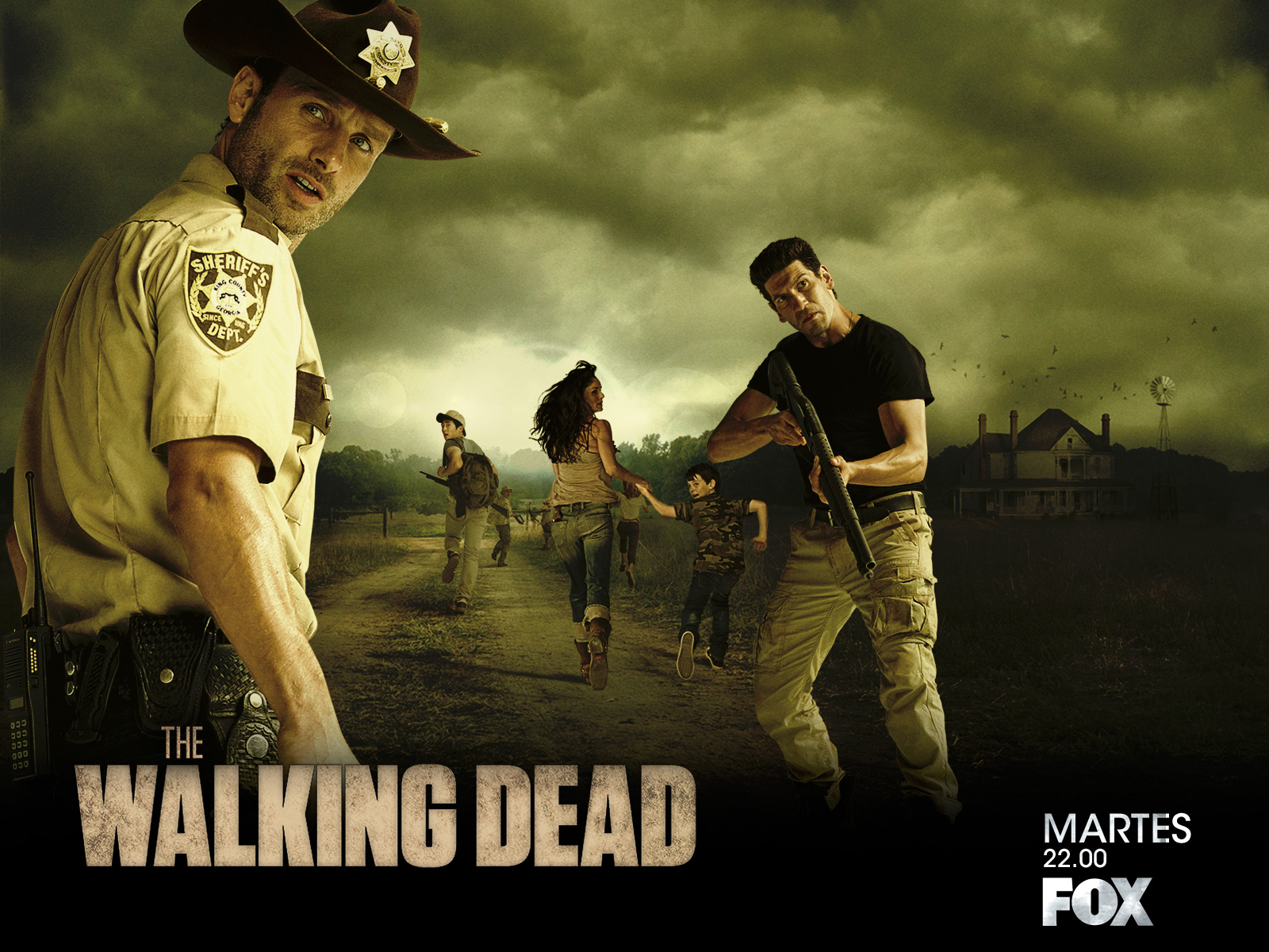 The Walking Dead (Temporada 2) HD 1080P LATINO/INGLES