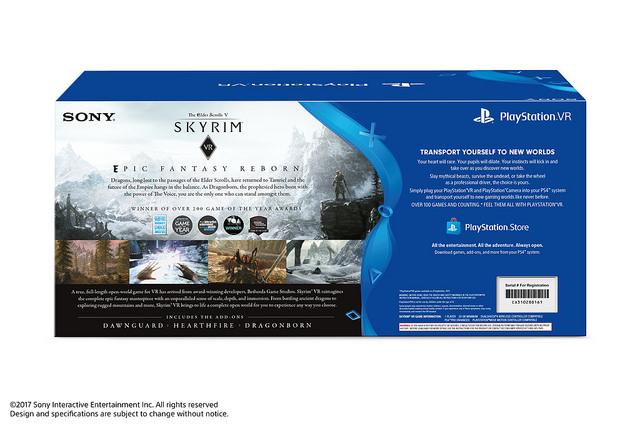 Se anuncia bundle de PlayStation VR con Skyrim VR en América