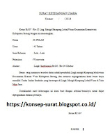 Contoh Surat Izin Usaha Dari Rt