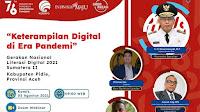 Asah Keterampilan Digital di Era Pandemi, Kominfo Gelar Webinar Literasi Digital 2021