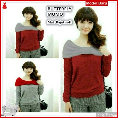 RFX128 MODEL BUTTERFLY MOMO HALUS FIT L BMG SHOP MURAH ONLINE