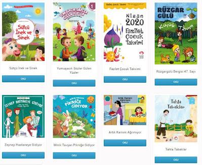 ÇamlıcaÇocuk Dijital Kütüphanem