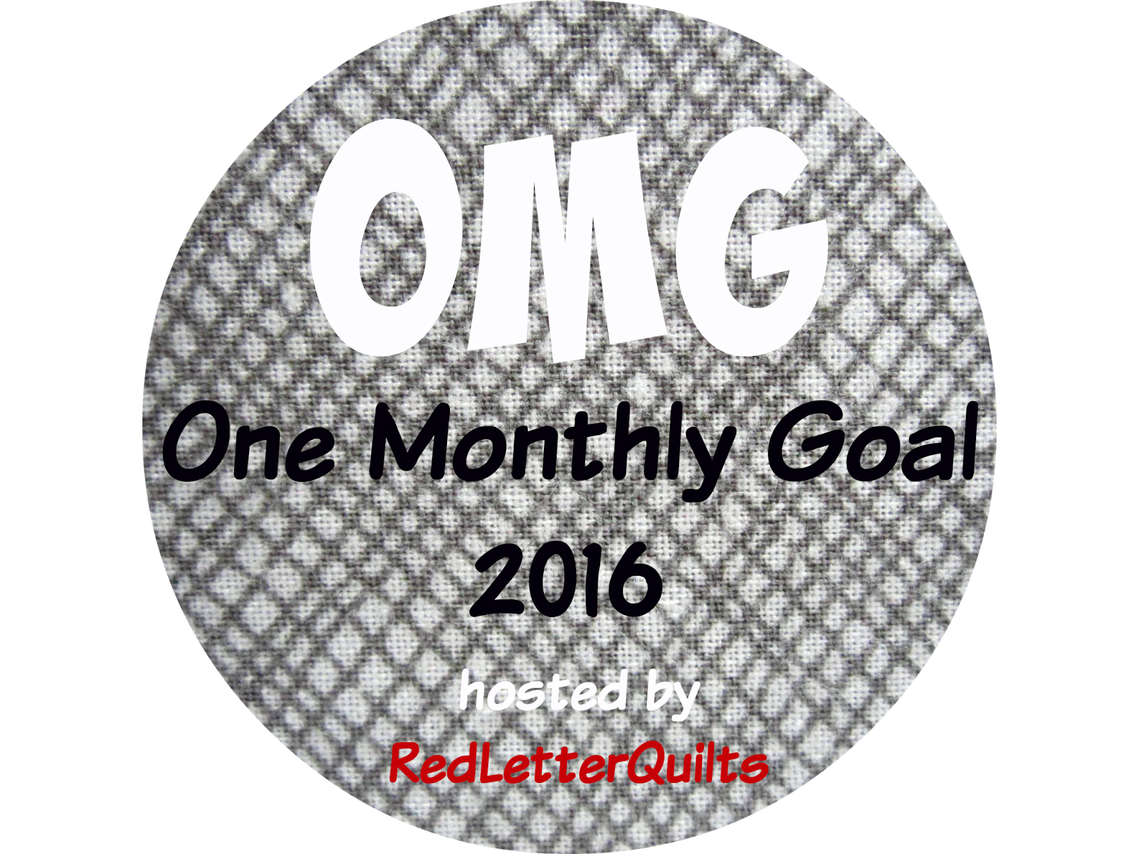 Red Letter Quilts One Monthly Goal September Goal Setting Party