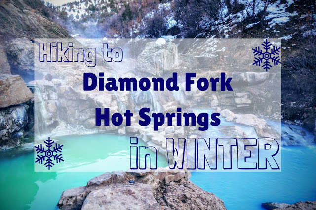 Hiking to Diamond Fork Hot Springs in Winter