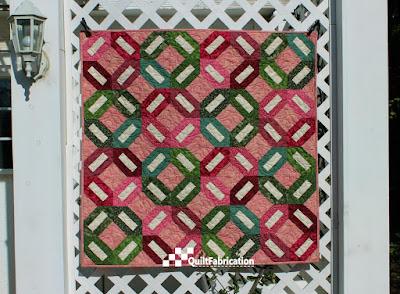 Sitka Rose quilt
