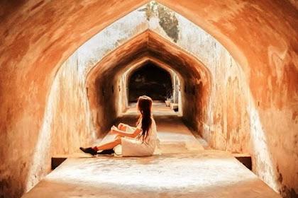Objek Wisata Sumur Gumuling Masjid Bawah Tanah, Tempat Ibadah Para Raja Yogyakarta