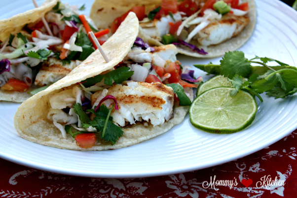 ... Kitchen - Recipes From my Texas Kitchen: Easy Grilled Fish Tacos