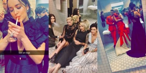 Celebs like Dakota Johnson, Bella Hadid, Paris Jackson, Ruby Rose slammed for Smoking at Met Gala 2017