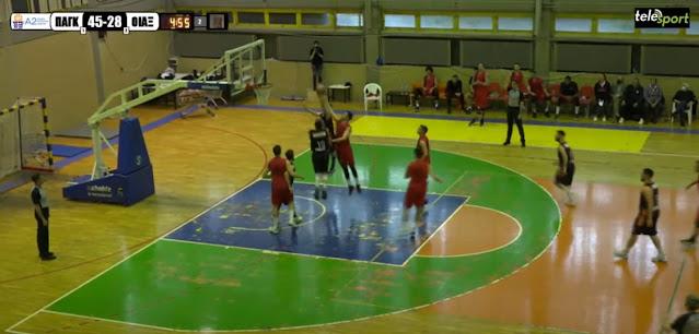 Με 54 βαθμούς διαφορά έχασε ο Οίακας Ναυπλίου από το Παγκράτι (βίντεο)