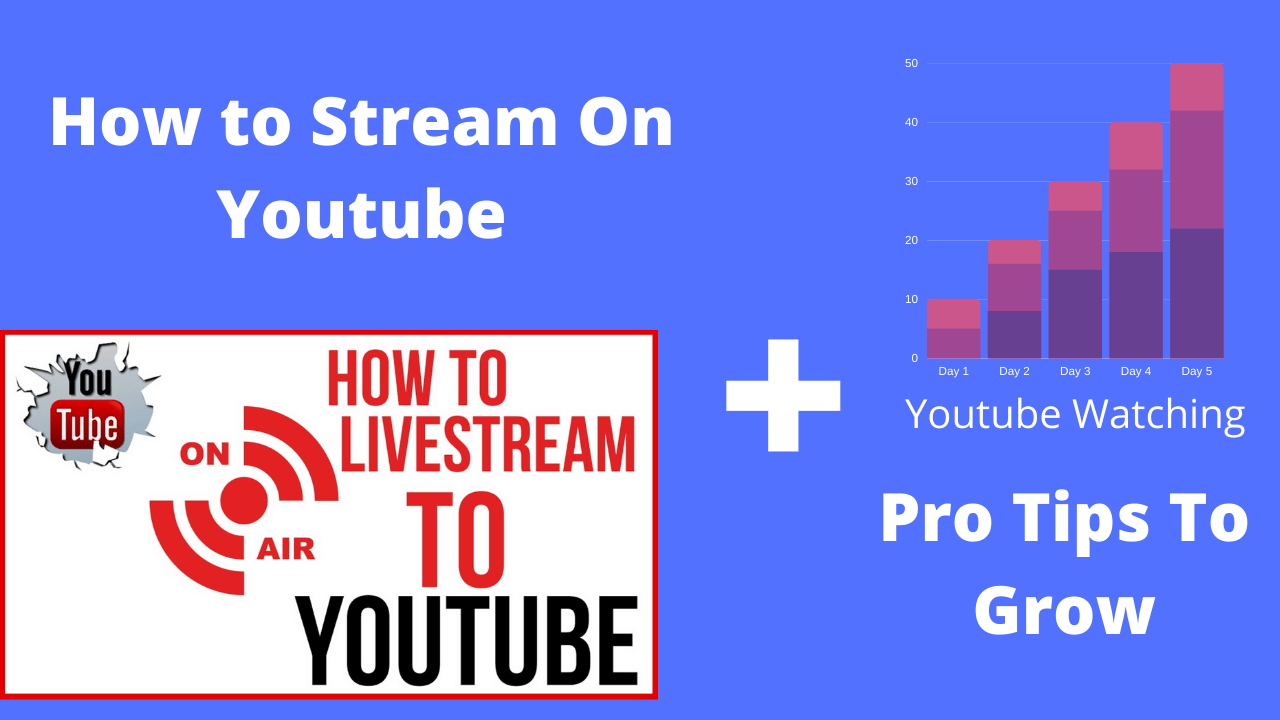 How To Stream On Youtube + Pro Tips To Grow