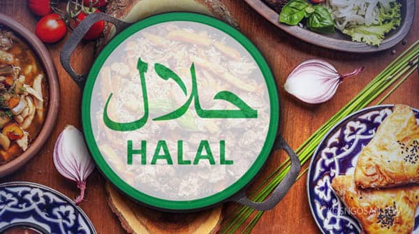 jenis makanan halal