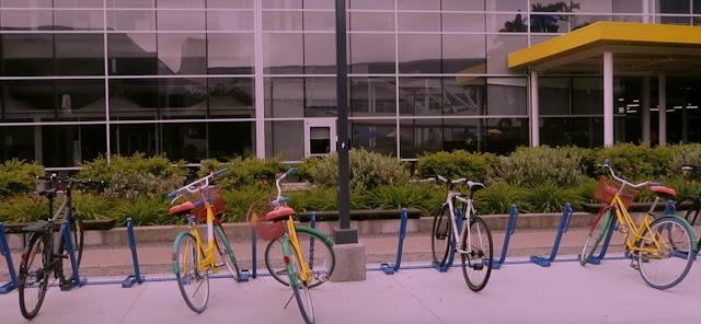 Sepeda Mempermudah Mobilitas Karyawan Google