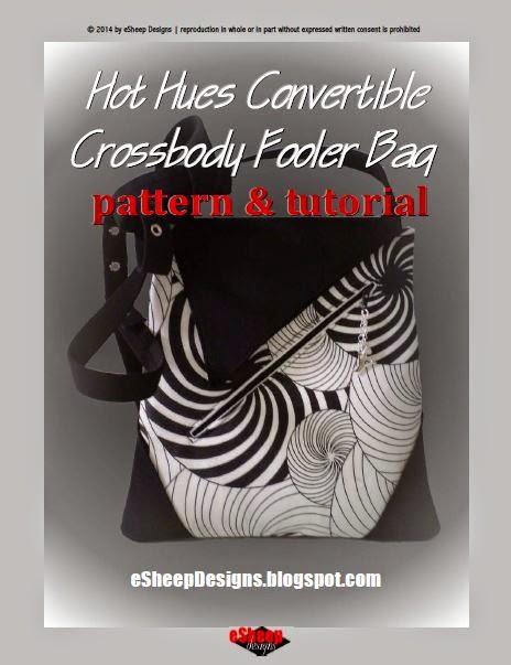 Hot Hues Convertible Crossbody Fooler Bag by eSheep Designs